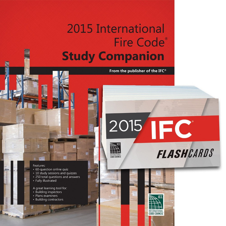 2015 International Fire Code Study Companion and Flash Card Set