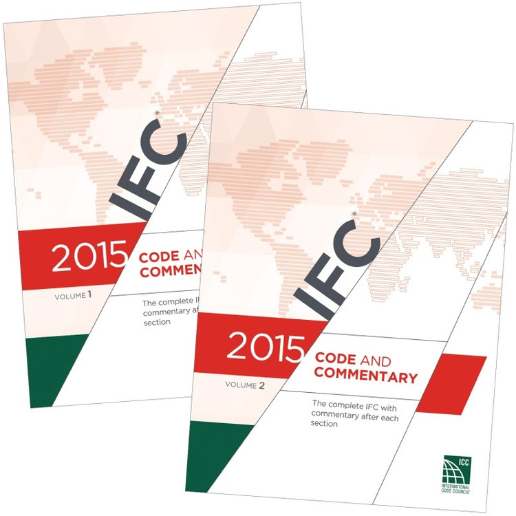 2015 IFC Code and Commentary - ISBN#9781609832865