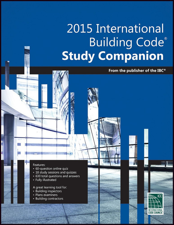 2015 International Building Code Study Companion - ISBN#9781609835415