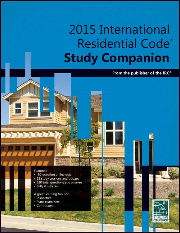 2015 International Residential Code Study Companion - ISBN#9781609835422