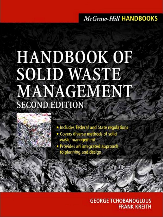 Handbook of Solid Waste Management 2nd Edition - ISBN#9780071356237