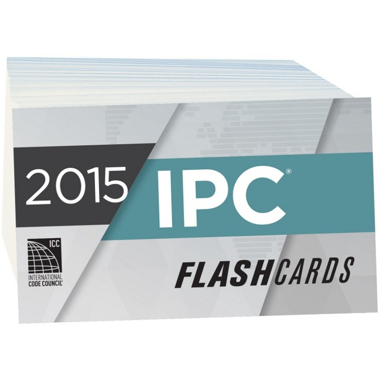 2015 IPC Flash Cards - ISBN#9781609835538