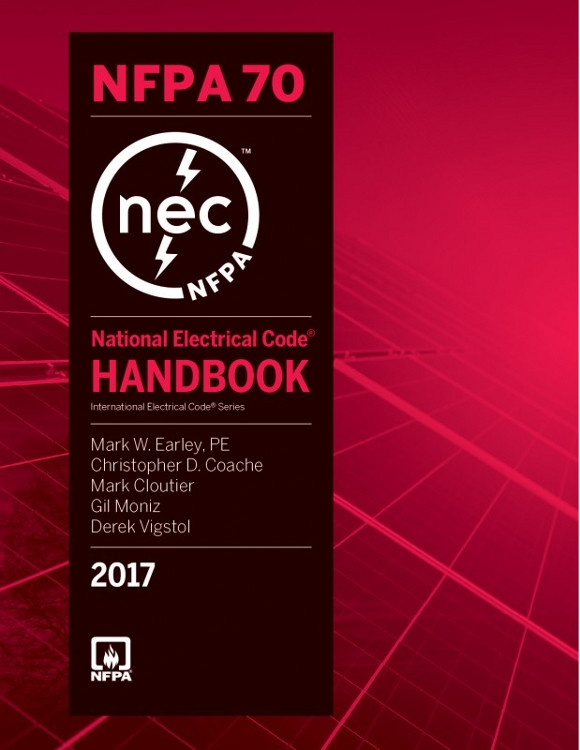 National Electrical Code Handbook 2017 Edition - ISBN#9781455912841