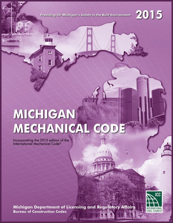 2015 Michigan Plumbing Code - ISBN#9781609836801