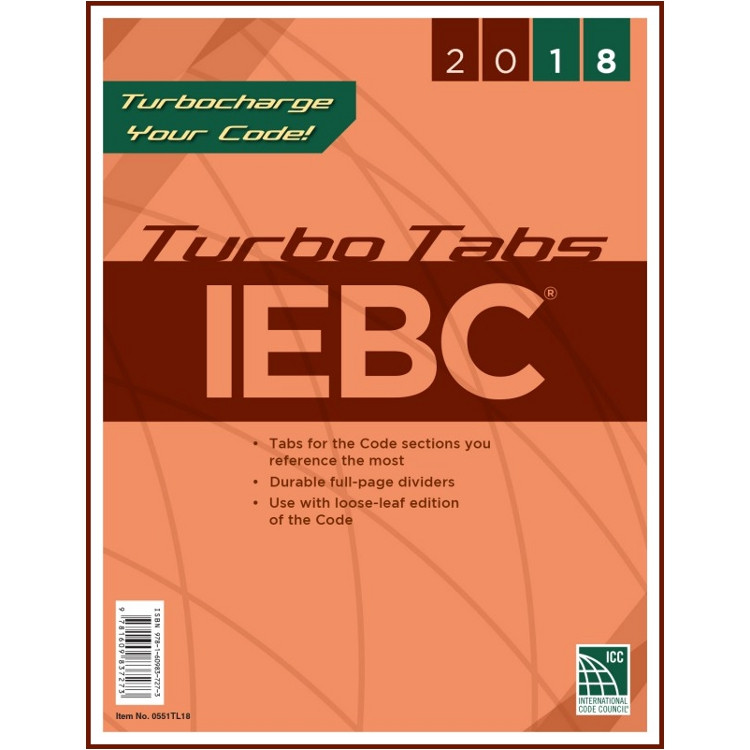 2018 IEBC Turbo Tabs (Looseleaf)