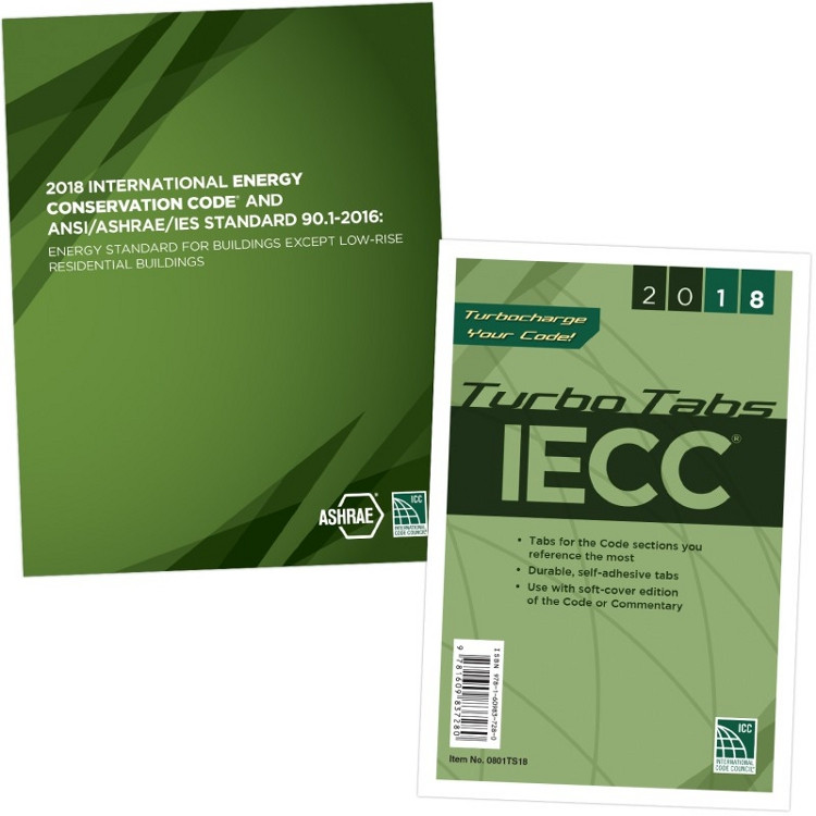 2018 IECC and ANSI/ASHRAE/IES Standard 90.1-2016 and Tab Set