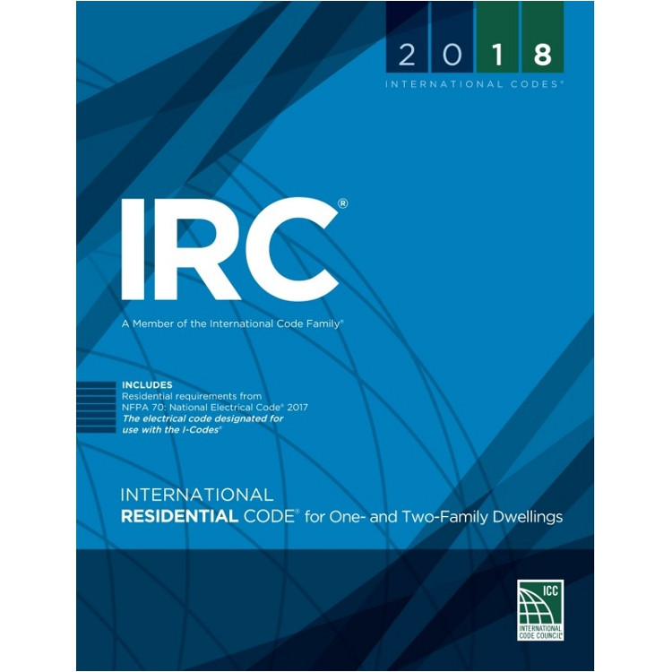 2018 International Residential Code - ISBN#9781609837372