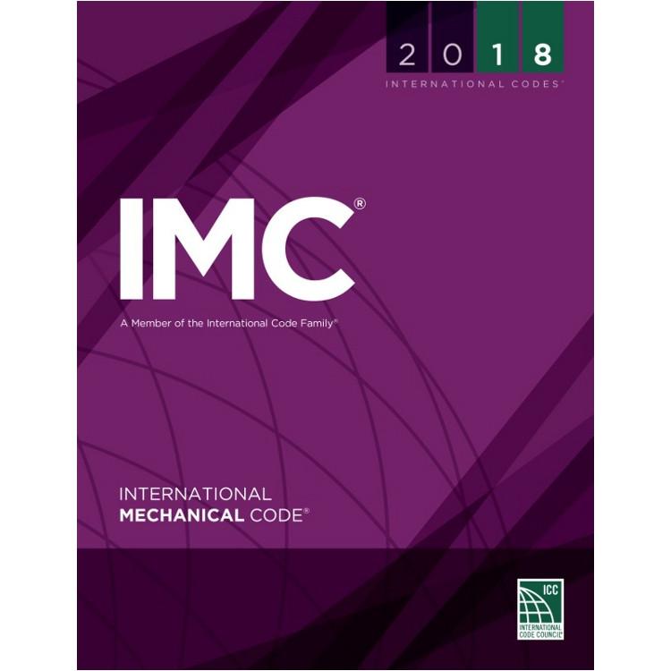 2018 International Mechanical Code (Looseleaf) - ISBN#9781609837426