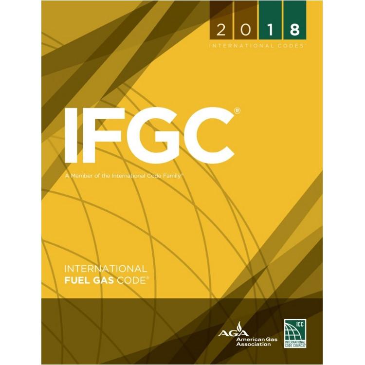 2018 International Fuel Gas Code - ISBN#9781609837419