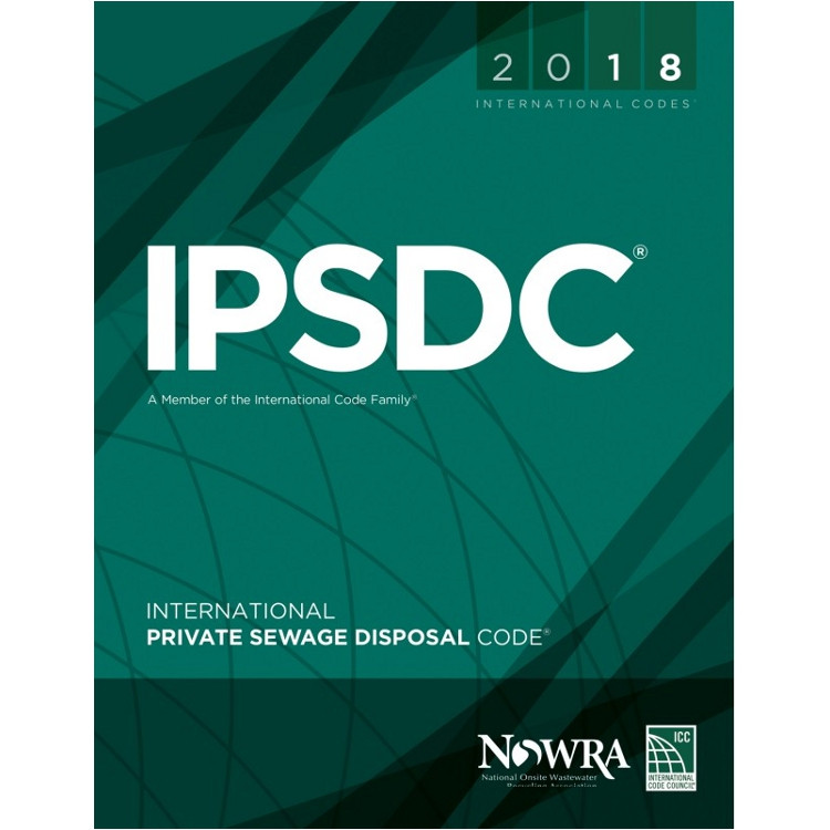2018 International Private Sewage Disposal Code - ISBN#9781609837471