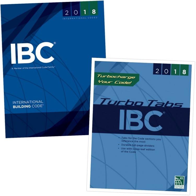 2018 International Building Code & Tab Set