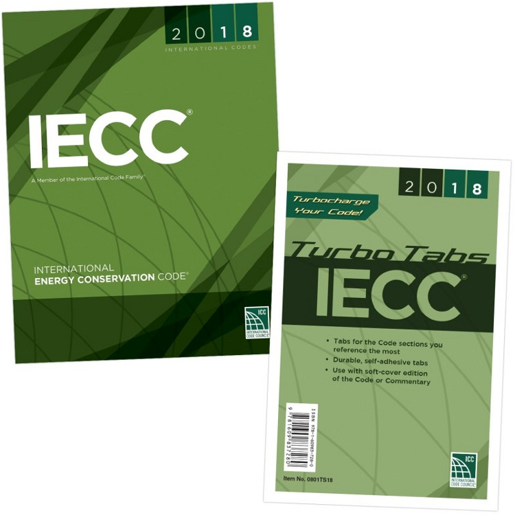 2018 International Energy Conservation Code & Tab Set