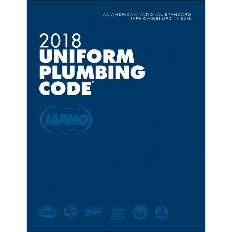 2018 Uniform Plumbing Code