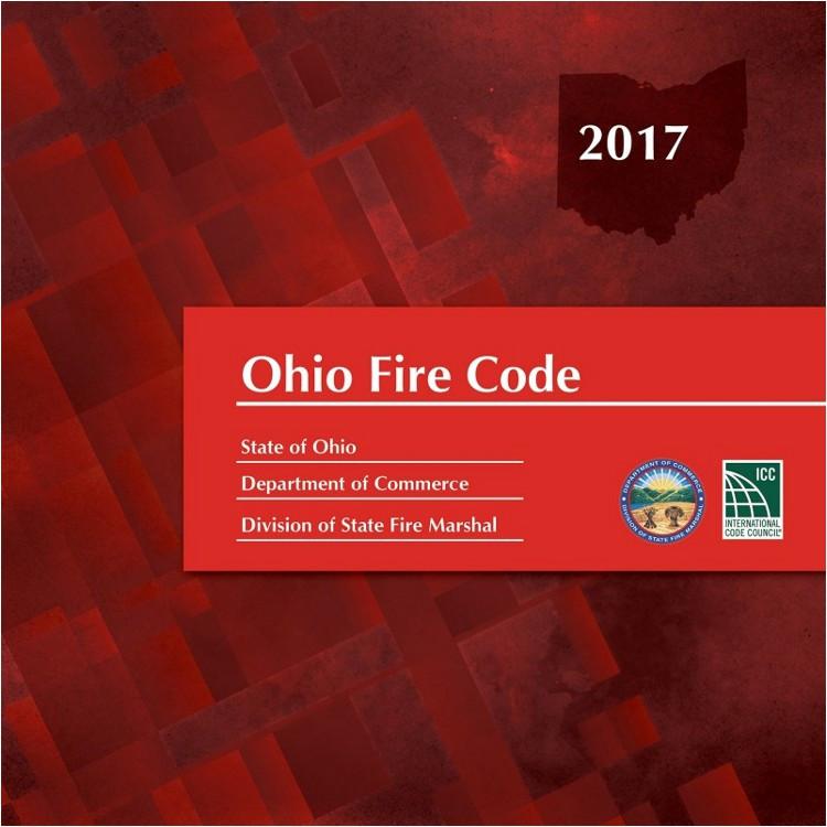 2017 Ohio Fire Code - ISBN#9781609838188