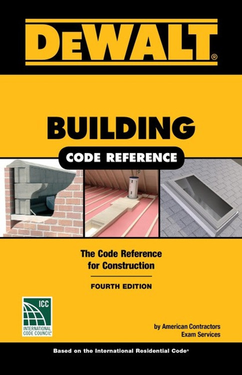 DeWalt Building Code Reference 4th Edition - ISBN#9781337271431