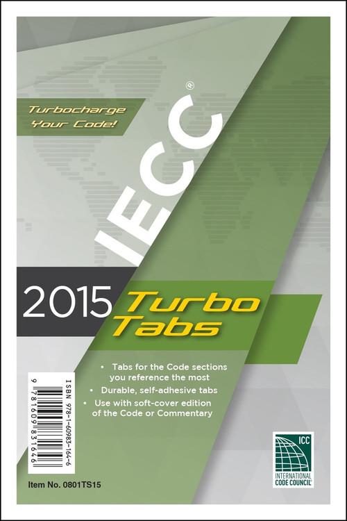 2015 IECC Turbo Tabs - ISBN#9781609831646