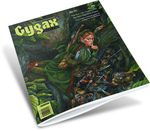 Gygax magazine #6 - shipping now