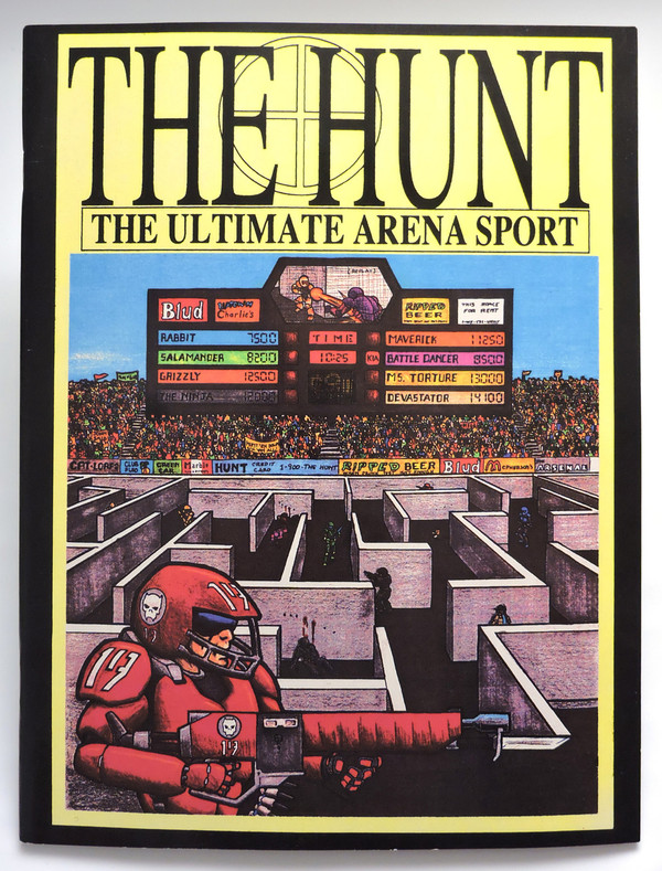 The Hunt - front cover