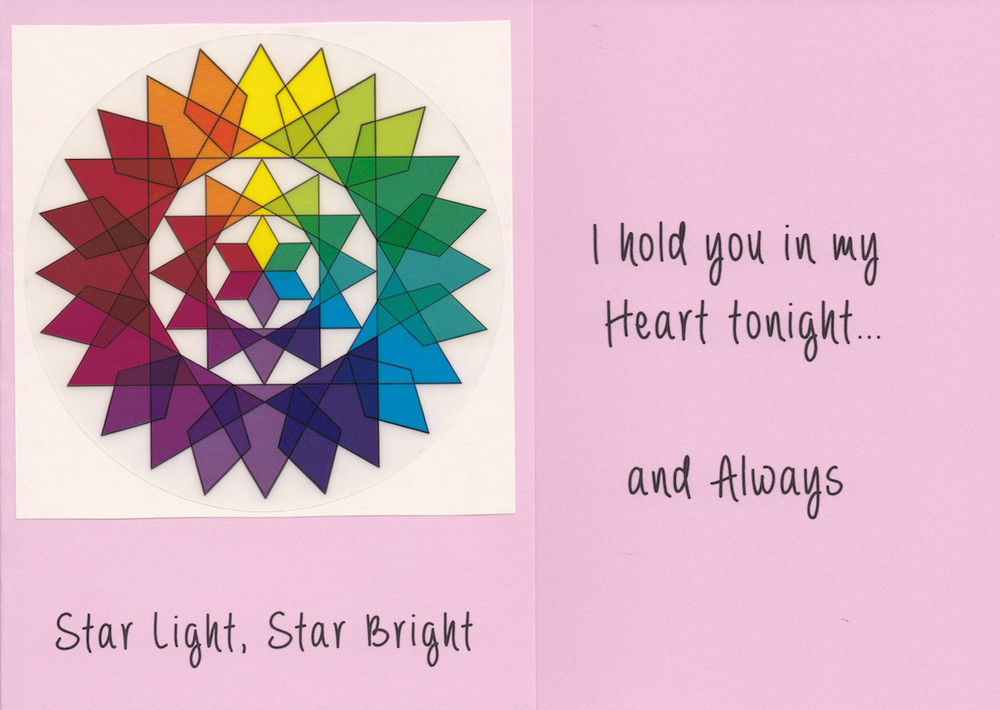 Star Light, Star Bright - card