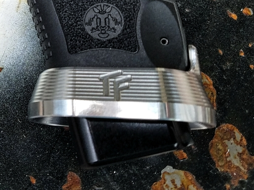 Canik TP9 Magwell - Aluminum