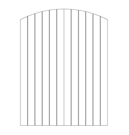 Plank Wood Door (DP1500CA)