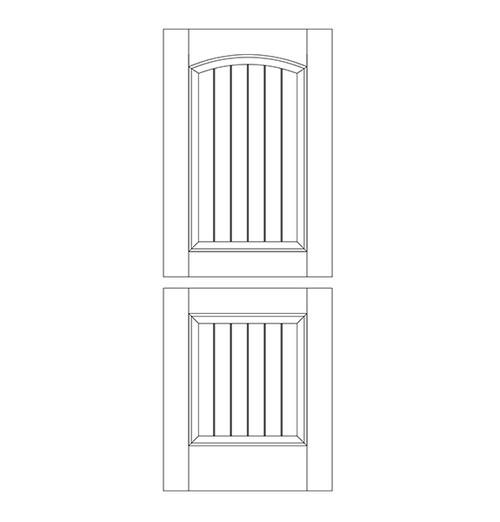 Wood Dutch Door (DD2103)