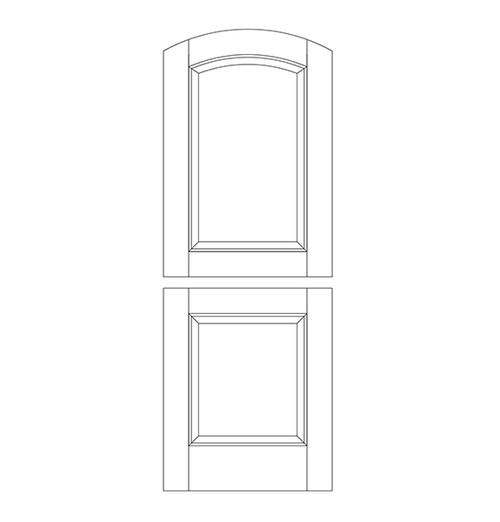 Wood Dutch Door (DD2500)