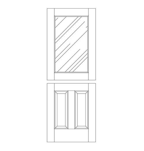 Wood Dutch Door (DD3000)