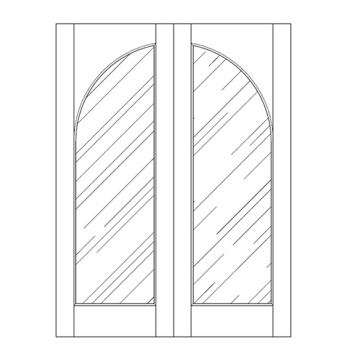 Glass Door (DG1200CA)