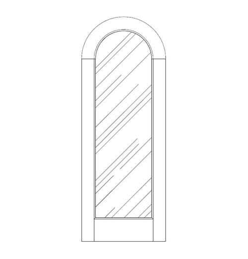 Glass Door (DG1600)