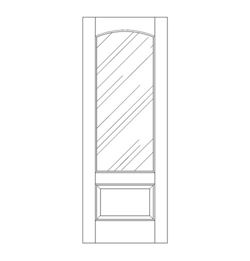 Glass Door (DG2110)
