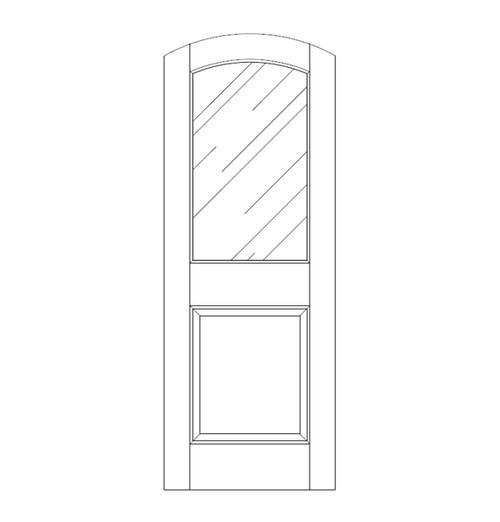Glass Door (DG2500)