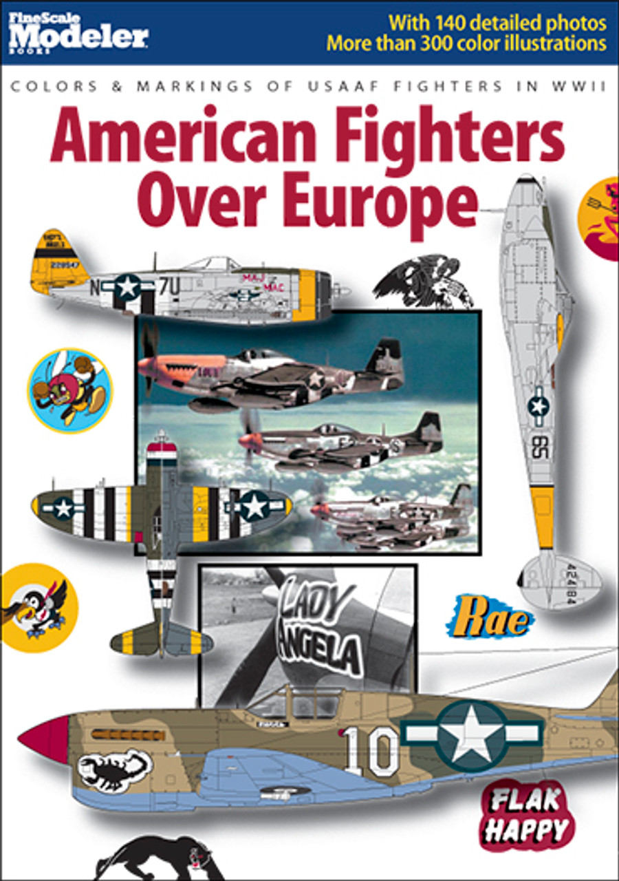 Fighters Europe Com: Colors & Markings Of USAAF Fighters In WWII: American