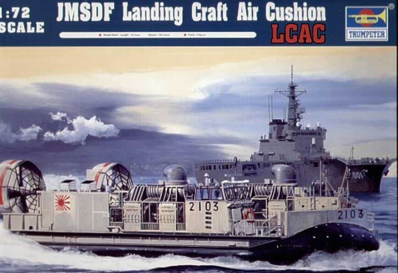 Amazon.com: Trumpeter 1/72 07301 JMSDF LCAC Landing Craft ...