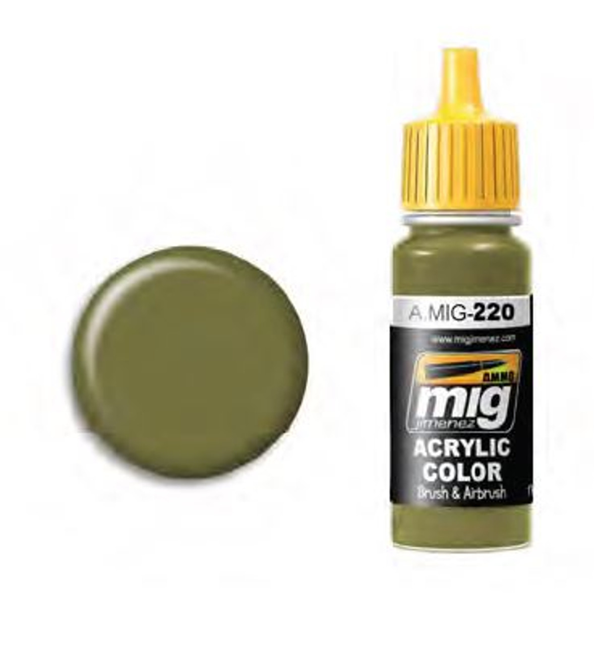 FS 34151 Zinc Chromate Green (Interior Green) for WWII USAF/US NAVY ...