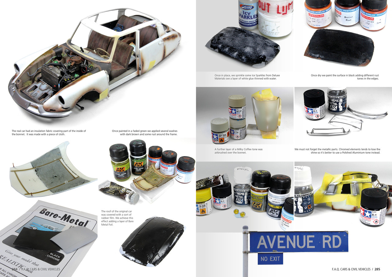 faq cars and civil vehicles scale modeling guide book ak interactive rh megahobby com Curling Wand Wizard 101 FAQ Guide