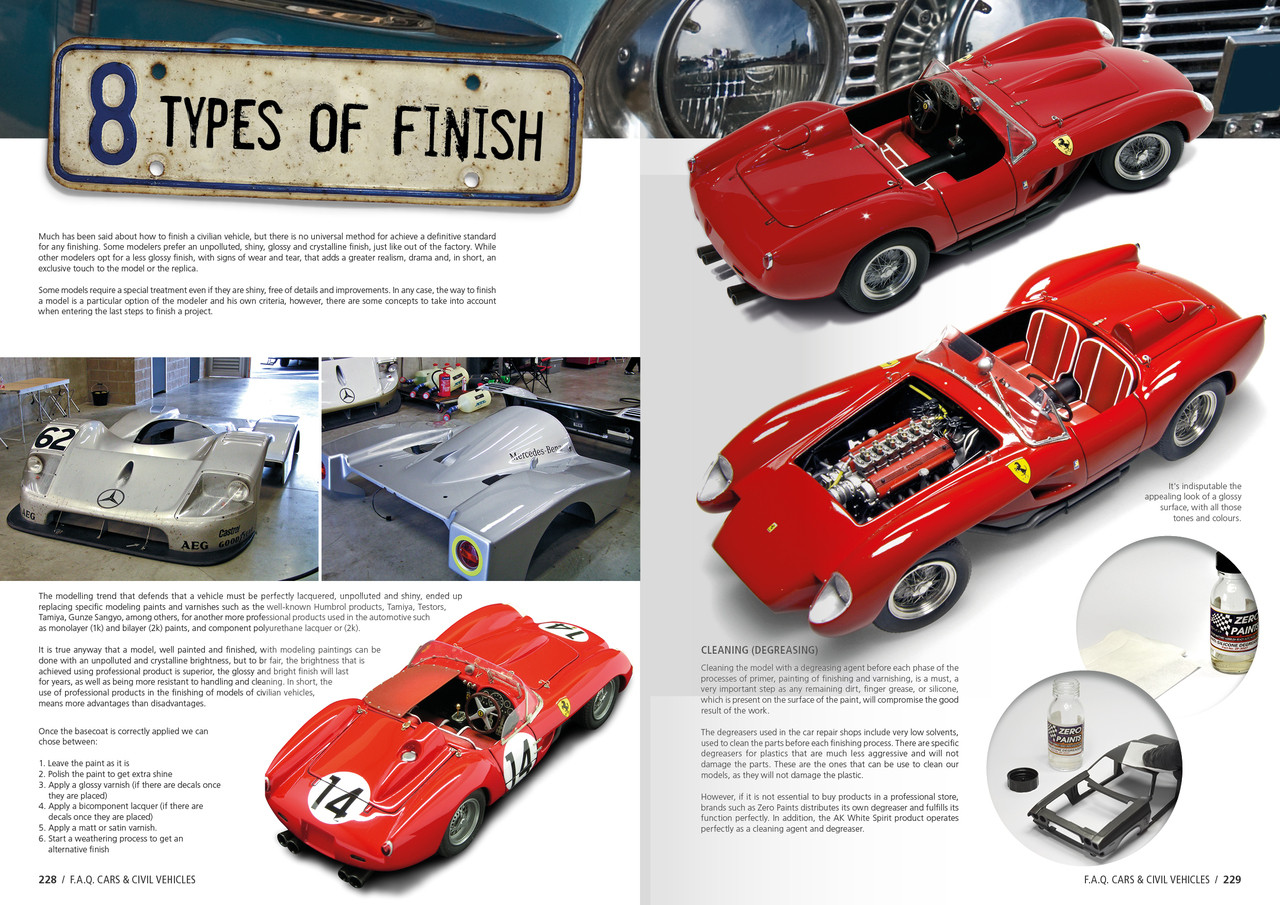 faq cars and civil vehicles scale modeling guide book ak interactive rh megahobby com SEO Infographic Mission Guide