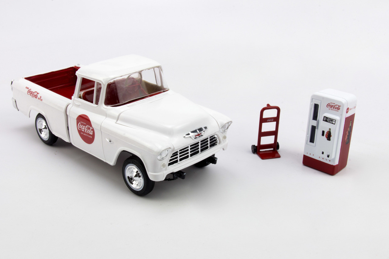 1955 Chevy Cameo Coca Cola Pickup Truck 1 25 Amt Ford F100 Kits
