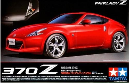 Nissan 370z Fairlady 2 Door Sports Car 1 24 Tamiya