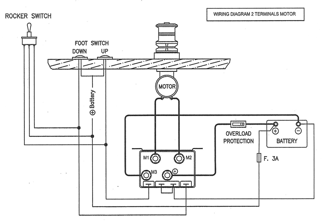 anchor winch wiring diagram online schematic diagram \u2022 atv winch wiring schematic imtra watertight windlass control box 12 volt dc for 2 and 4 wire rh seatechmarineproducts com maxwell anchor winch wiring diagram muir anchor winch wiring