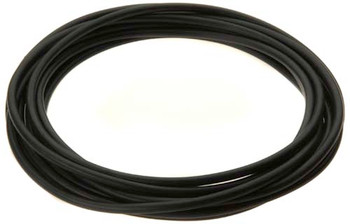 """Tubing, black, 1/4"""" (hard) for quick-connect fittings (interior) - per meter"""