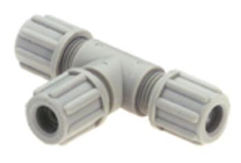 T-coupling 4 x 6mm