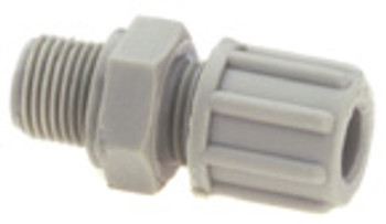 """Straight coupling, 1/8"""" Compression"""