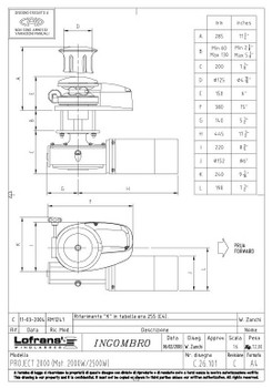 LW7977LP/1 Dimensional Drawing