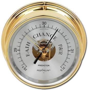 Predictor – Brass case, Silver dial