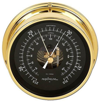 Proteus – Brass case, Black dial