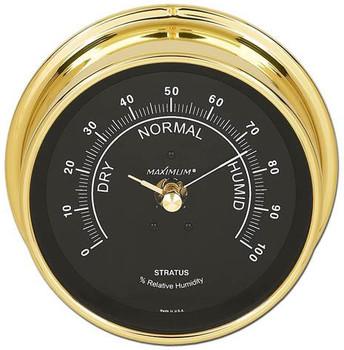 ComfortMinder – Brass case, Black dial