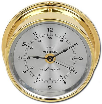 Meridian – Brass case, Silver dial