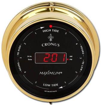 Cronus – Brass case, Black dial