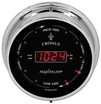 Cronus – Chrome case, Black dial